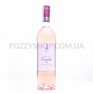 Вино Mademoiselle Comedie Bordeaux rose