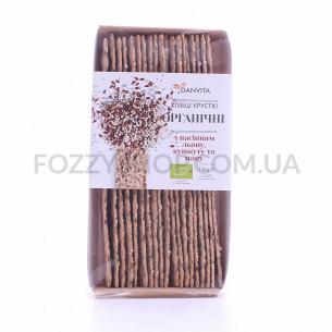 Хлебцы Danvita органические с семен льна-кунж-мака