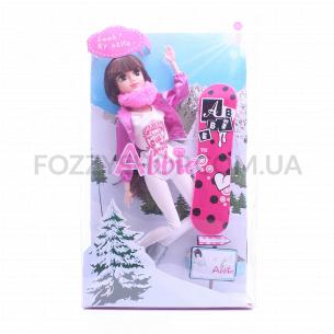 Кукла на сноуборде D1