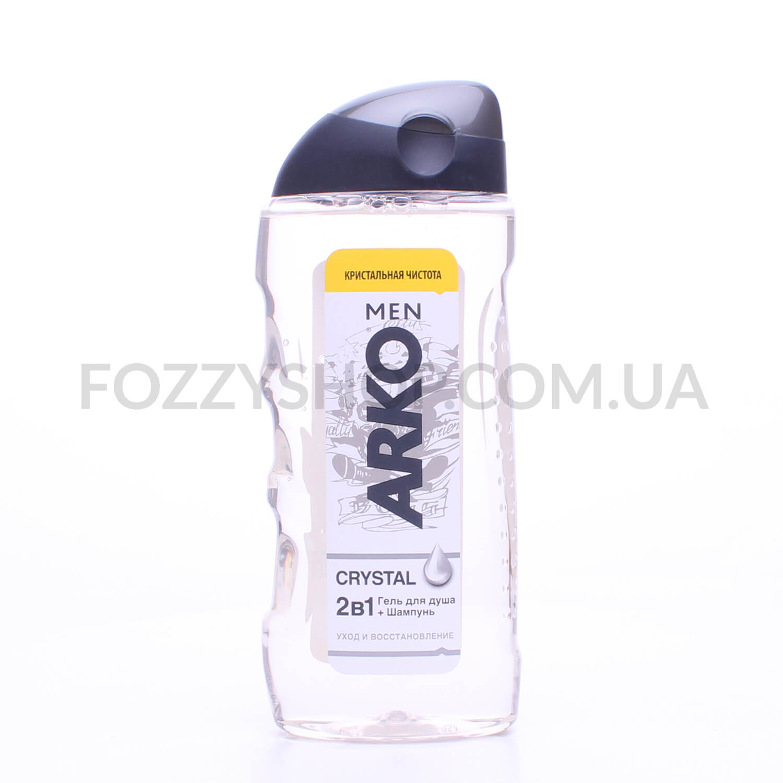 Гель-шампунь для душа ARKO Crystal 2in1