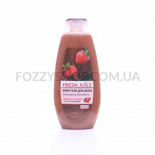 Крем-гель д/душа Fresh Juice Chocolate&Strawberry