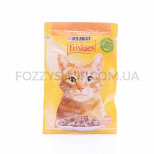 Корм для котов Friskies с курицей в соусе