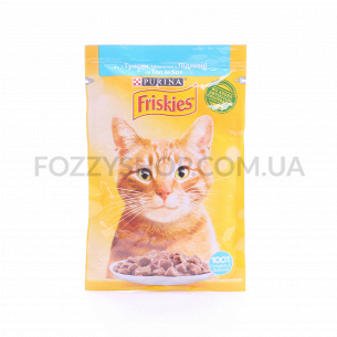 Корм для котов Friskies с тунцом в підливке