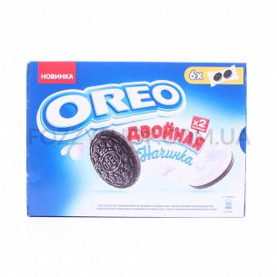 Печенье Oreo с двойной начинкой