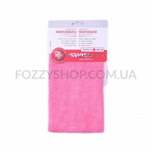 Салфетка Pro SwissCar микрофибра розовая 35х40см