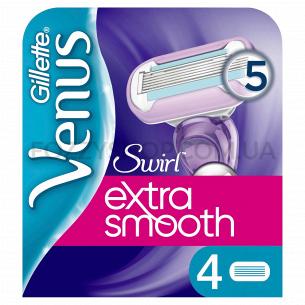 Сменные кассеты Venus Swirl 4 шт.