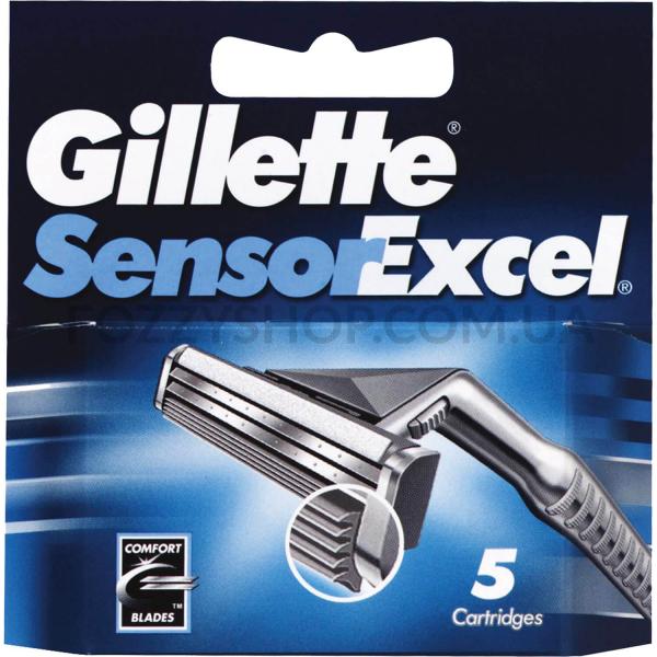 Сменные картриджи Gillette SENSOR Excel (5 шт)