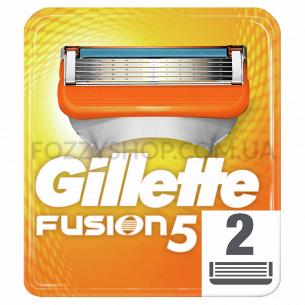 Сменные картриджи для бритья Gillette Fusion5 (2 шт)