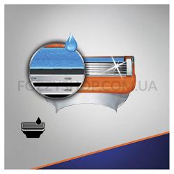 Сменные картриджи для бритья Gillette Fusion5 Power (2 шт)