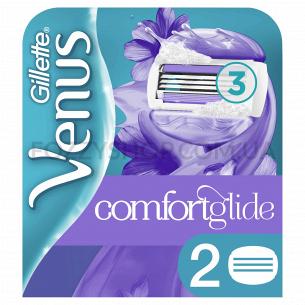 Сменные картриджи для бритья Venus Breeze c гелевой полоской (2 шт)