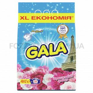 Стиральный порошок Gala Французский аромат 4 кг, Автомат