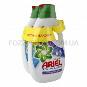 Жидкий стиральный порошок Ariel Color, 2 х 1.95л