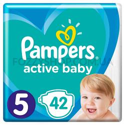 Подгузники Pampers Active Baby Размер5 11-16 кг, 42 подгузника