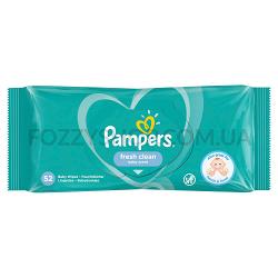 Cалфетки Pampers Fresh Clean 52 ПрК
