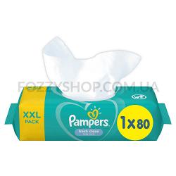 Cалфетки Pampers Sensitive 80 ПрК