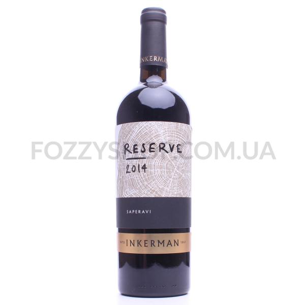 Вино Inkerman Саперави Reserve красное сухое