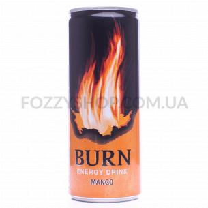 Напиток энергетический Burn манго б/алк ж/б