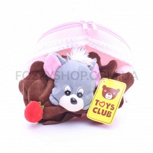 Игрушка мягкая Мышь-сумка