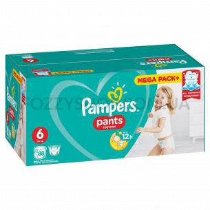 Подгузники - трусики Pampers Pants Размер 6 (Extra Large) 15+ кг, 88 подгузников