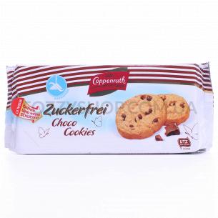 Печенье Coppenrath с шоколадн.кусочками без сахара