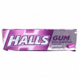 Резинка жевательная Halls ментол-черная смородина