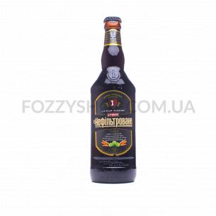 Пиво Перша приватна броварня Бочкове темное н/ф