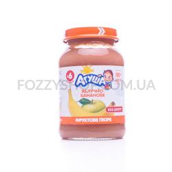 Пюре Агушаяблочно-банановое