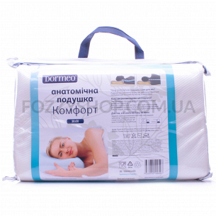 Подушка Dormeo Комфорт анатомическая 30х50см