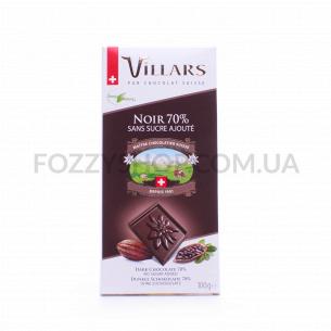 Шоколад черный Villars без сахара