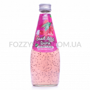 Напиток Magic Fruit вкус личи с семенами базилика
