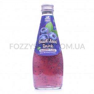Напиток Magic Fruit вкус черника с семен базилика