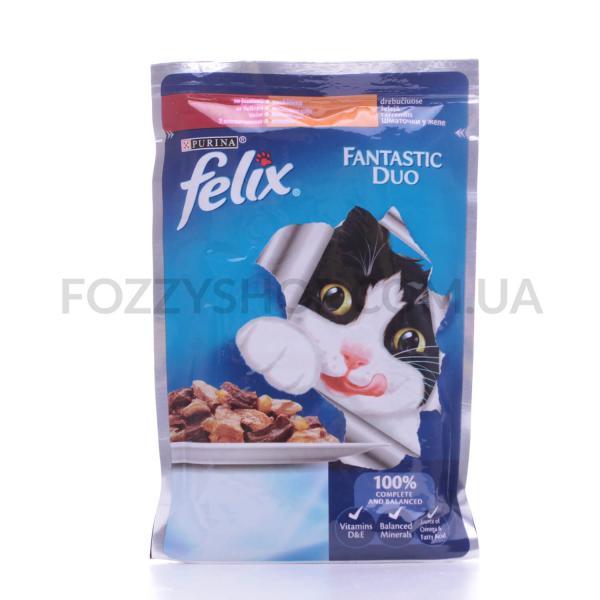 Корм для котов Felix Duo говядина-птица
