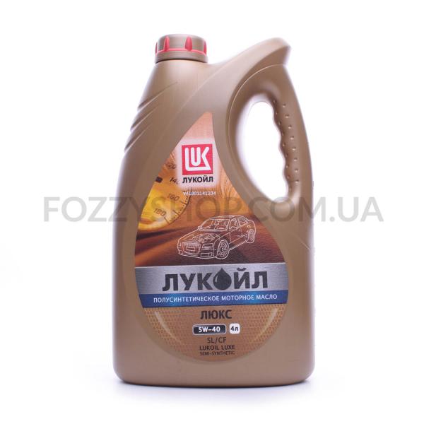 Масло моторное Lukoil Люкс SAE 5W-40 API SL/CF
