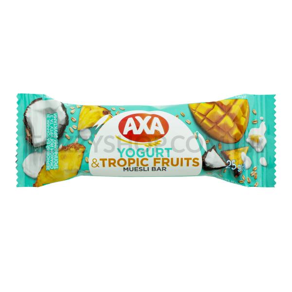 Батончик АХА вкус йогурта с тропическими фруктами