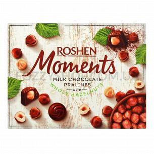 Конфеты Roshen Moments с целым фундуком