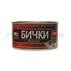 Бычки Аквамир обжаренные в томатном соусе