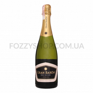 Вино игристое Gran Baron Cava Brut Nature