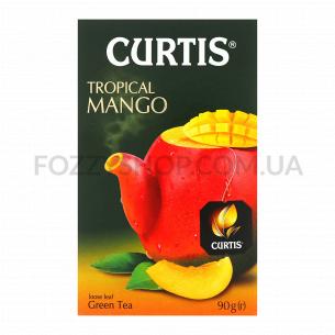 Чай зеленый Curtis Tropical Mango байховый