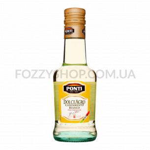 Дрессинг Ponti бальзамический из белого вина