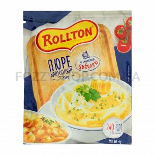 Пюре Rollton картофельное с жареным луком саше