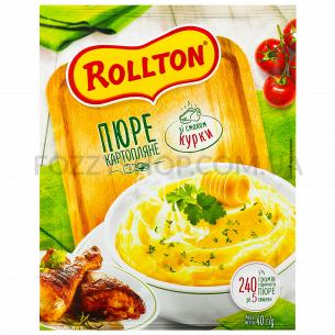 Пюре Rollton картофельное со вкусом курицы саше