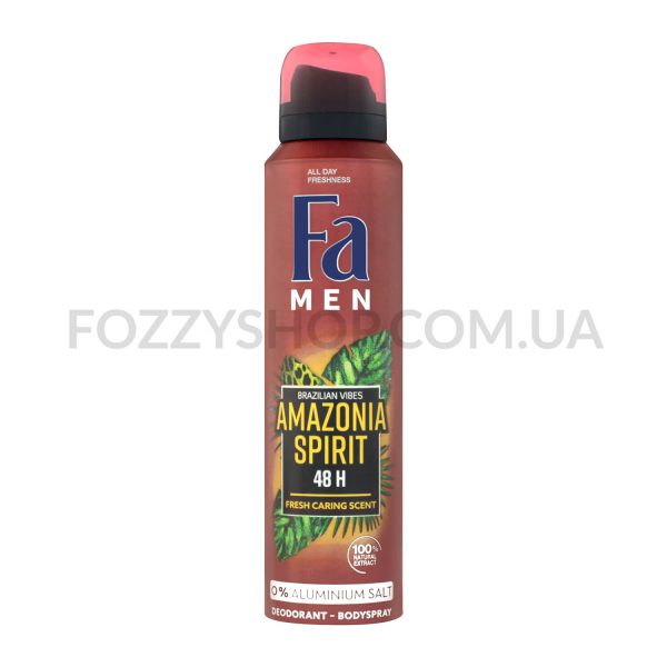 Дезодорант Fa Men Ритмы Бразилии Amazonia Spirit