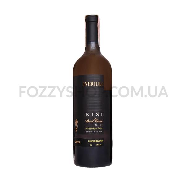 Вино Iveriuli Kisi Special Reserve