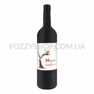 Вино Chateau Les Grands Thibauds Merlot Bordeaux