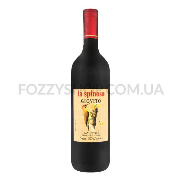 Вино La Spinosa Giovito Toscana Rosso SO2 Free