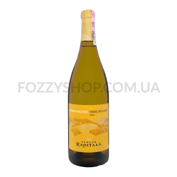 Вино Tenuta Rapitala Piano Maltese Sicilia Bianco