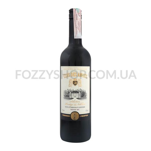 Вино Clos des Anges Rouge