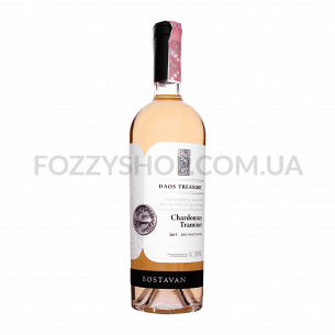 Вино Bostavan Dacian Treasure Chardonnay&Traminer