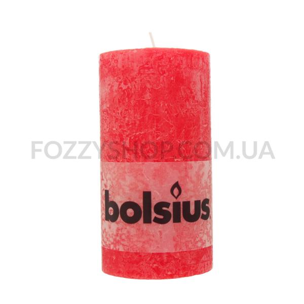 Свеча цилиндрическая красная 130*68мм