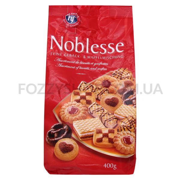 Ассорти Hans Freitag Noblesse печен-вафли с джемом
